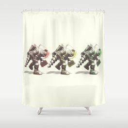 Walk of the Big Daddys Shower Curtain