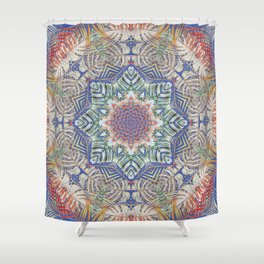 Jungle Kaleidoscope Shower Curtain