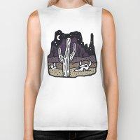arizona Biker Tanks featuring Arizona by WEAREYAWN