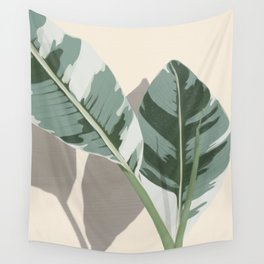 Banana Leaves Wall Tapestry