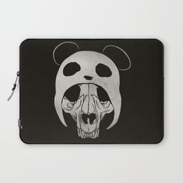 Panda Skull Laptop Sleeve