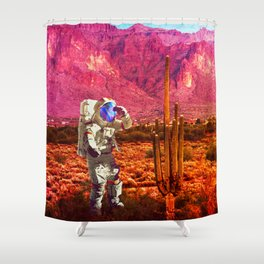 In The Search Shower Curtain