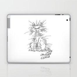 Disgruntled Cat Laptop & iPad Skin