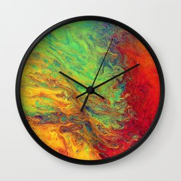 Psychedelica Wall Clock