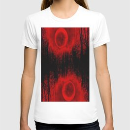RED MOON FOREST T-shirt