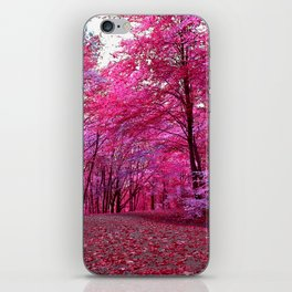 purple forest IV iPhone Skin