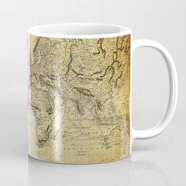 World Map 1814 Coffee Mug