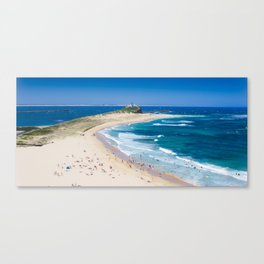 Newcastle, NSW, Australia Newcastle Beach Canvas Print