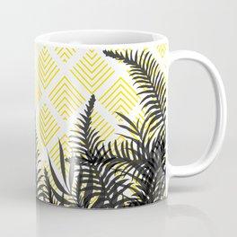 Tropical Ferns on Pattern #society6 #decor #buyart Coffee Mug