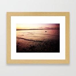 Red Skies Framed Art Print