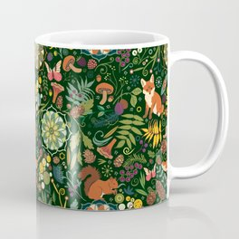 Treasures of the emerald woods Coffee Mug