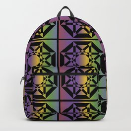 Star Pattern Backpack
