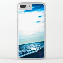 Blue Dream - ILL Design - Roth Gagliano Clear iPhone Case