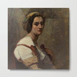 "Jean-Baptiste-Camille Corot ""Sibylle"" Metal Print"