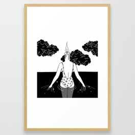 The Final Flame Framed Art Print