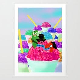Fun day Art Print