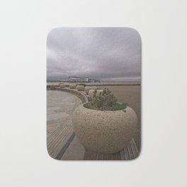 Weston-Super-Mare Seafront View Towards The Grand Pier Bath Mat