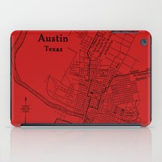 Vintage Austin Red iPad Case