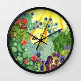 Bumblee Bee LOVE Wall Clock