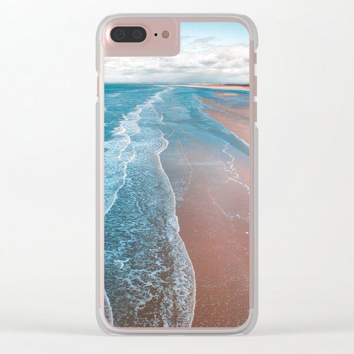 ocean adore Clear iPhone Case