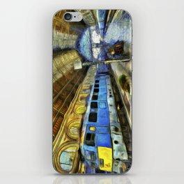 Vincent Van Gogh Railway Station iPhone Skin