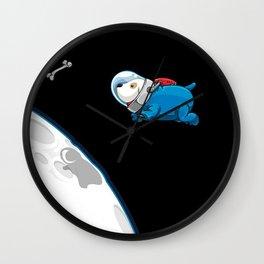 Space Bone Seeker Wall Clock