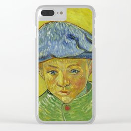 "Vincent van Gogh ""Portrait of Camille Roulin"" Clear iPhone Case"
