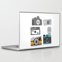 cameras Laptop & iPad Skins featuring Cameras by Josh Ross