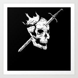 All Kings Must Die Art Print