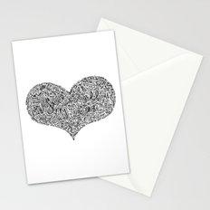 All I need - Lyrics doodle Stationery Cards
