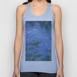 No Monet, No Problems Unisex Tank Top