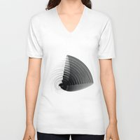 pi V-neck T-shirts featuring pi by Graphmob