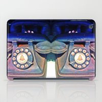 telephone iPad Cases featuring Telephone by Parastar Arts