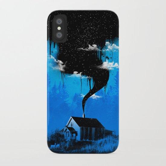 Black Smoke iPhone Case