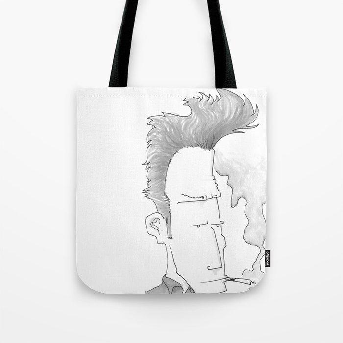 Big-haired Smoker #1 Tote Bag