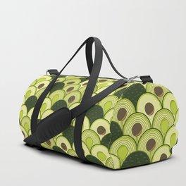 avocados in art deco Duffle Bag