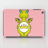 dino iPad Cases featuring dino ♥ by Walkie Talkie Girl
