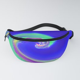 """Angry Ocean"" Photograph Fanny Pack"