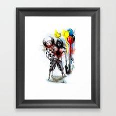Clown Fun Framed Art Print