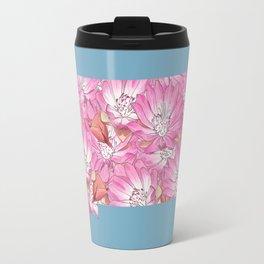 Montana in Flowers Travel Mug