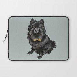 Ozzy the Pomeranian Mix Laptop Sleeve