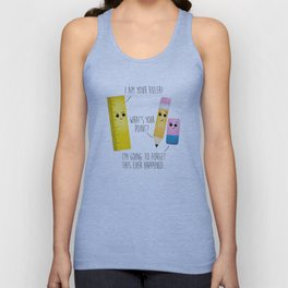 I Am Your Ruler Unisex Tank Top