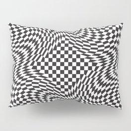 Checkered Warp Pillow Sham