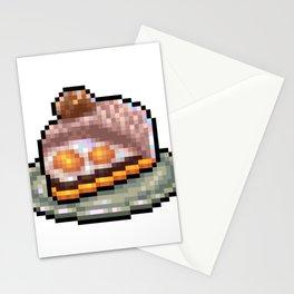 Cakes Mont Blanc tart Stationery Cards