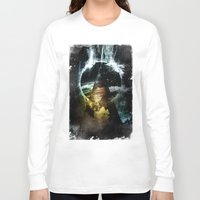 child Long Sleeve T-shirts featuring Thunder child by HappyMelvin