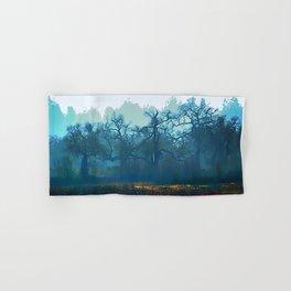 Skragley Oak Trees in the Laguna de Santa Rosa, Sonoma County, California Hand & Bath Towel