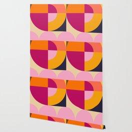 Spring- Pantone Warm color 04 Wallpaper
