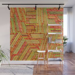 Distortion Wall Mural
