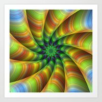fractal Art Prints featuring Fractal by David Zydd