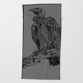 Vulture (DirtyDecibels) Beach Towel